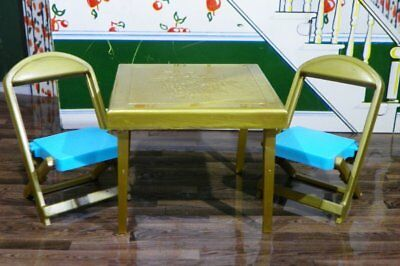 card table and chair set steel price in kolkata renwal folding vintage dollhouse furniture ideal plastic