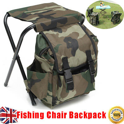fishing chair rucksack christmas covers the range backpack stool camping hiking hunting bag seat 2 in 1 hot