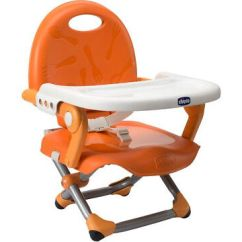 Portable High Chair Chicco Chairs For Sale Craigslist Pocket Snack Booster Seat Lightweight Highchair Mandarino
