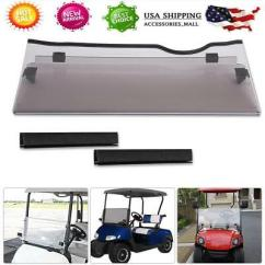 Ezgo Windshield Speed Queen Dryer Wiring Diagram Usa Rxv Golf Cart W Rubber Trim Folding Tinted Impact Resistant
