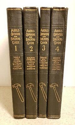 Audels Carpenters And Builders Guide 1927