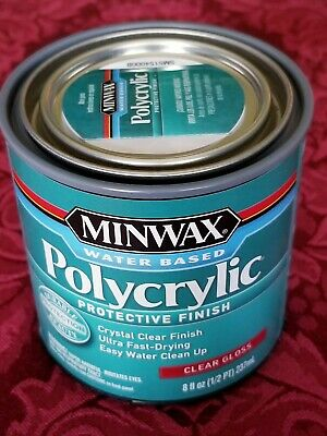 Minwax Polycrylic Clear Gloss Quart