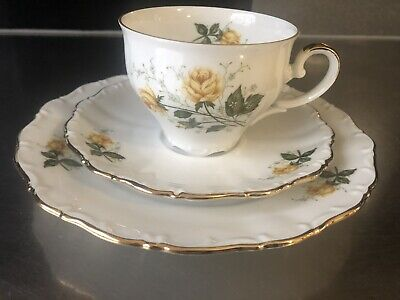 Antique plate collecting cup 3 parts No.4 Seltmann Bavaria porcelain cup gift