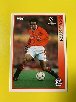 Topps UCL The Lost Rookie Card Ryan Giggs 1993
