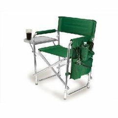 Soccer Mom Covered Chairs Accent Wingback Picnic Time Portable Folding Sports Chair Hunter Green Spring 809 00 121 From