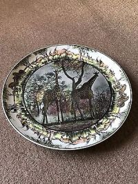 Royal Doulton Giraffes decorative plate  5.00 - PicClick UK