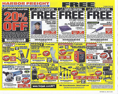 Harbor Freight 20 Off Coupon March 2018