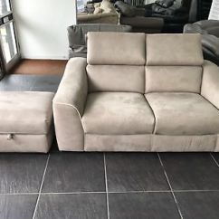 2 Seater Sofa Bed Furniture Village Crate And Barrel Sectional Annalise Beige Sofabed 1 00 Picclick Uk