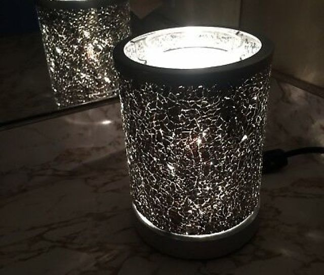 Scentsy Black Crush Warmer New In Box Mosaic Glass