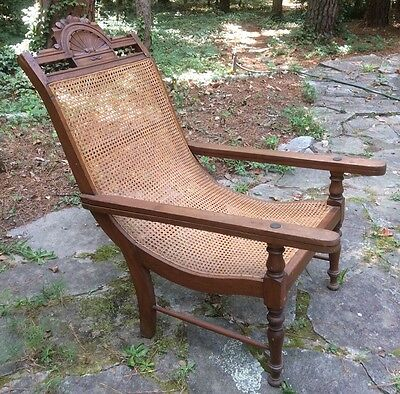 british colonial chair ergonomic angle 19th c west indian caribbean planters antique mahogany