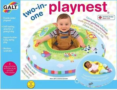 baby blow up ring chair wheelchair entrance galt inflatable playnest 2in1 bed play toy seat support 31 99 picclick