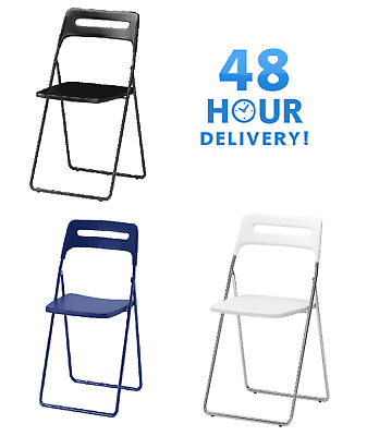 ikea folding chair church with kneeler nisse for camping outdoor garden home office chairs foldable