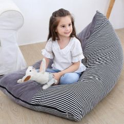 Bean Bag Storage Chair Patio Sling Fabric Stuffed Animal 38 Extra Large Kids Toys 35 Organizer Gift