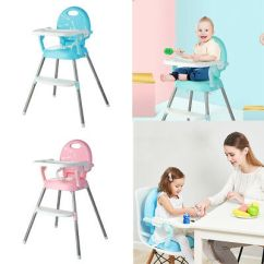 Portable High Chair Baby Covers For Ikea Nils Foldable Highchairs Feedding Adjustable Booster Seat