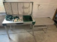 VINTAGE COLEMAN CAMPING Kitchen Pack Outdoor Portable ...