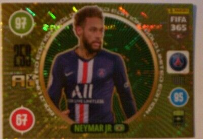 Panini FIFA 365 2021 #  Limited Edition Gold Neymar Jr Paris St Germain