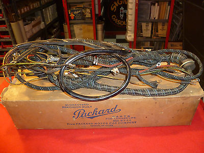 Packard Wiring Harness Reproduction Wiring Harness Wiring Diagrams