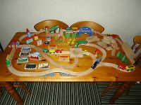 Wooden kids toy train track from Brio ELC Ikea set Thomas ...