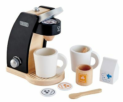 hape kitchen table island kid s coffee maker wooden play set with accessories time for two
