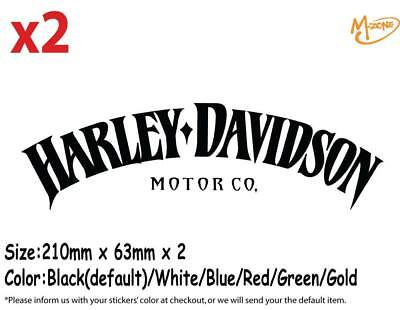 X2 HARLEY DAVIDSON Motor Co. Iron Sportster Tank Decal