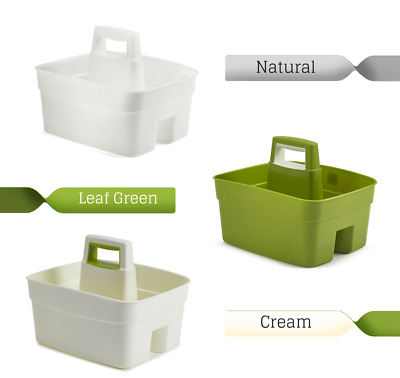 kitchen caddy remodel a plastic handy carry tray with handle tidy organiser cleaning large eur 10 27 picclick fr