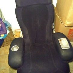 Sharper Image Massage Chairs Folding Ikea Chair Ijoy Works Great 240 00 Picclick