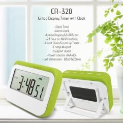 Loud Kitchen Timer Block Wisefield Digital Countdown Up Alarm Lcd Large Cooking Count Down Clock Magnetic