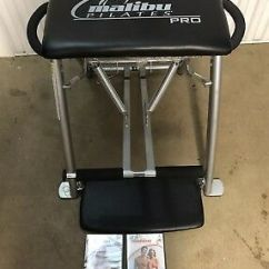 Chair Gym Parts Desk Disassembly Malibu Pilates Pro Replacement Lock Unlock Push Button Exercise Workout Abs Bench W 2 Dvds