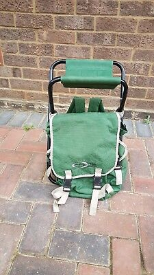 fishing chair crane ikea covers perth folding unused condition 25 00 picclick uk camping foldable backpack stool