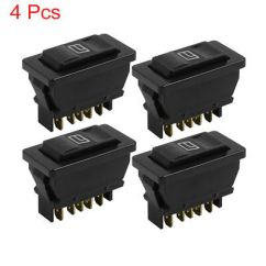 Power Window Fort Universal 12v Dc 99 Jeep Cherokee Xj Radio Wiring Diagram 3pcs Buttons Car Electric Switch Wire Harness 4pcs Momentary W Light For