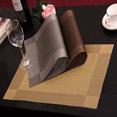 western kitchen table ikea islands placemats pvc insulation dining mats pad 1 pc diagonal frame