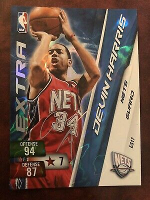Devin Harris New Jersey Nets Panini NBA Adrenalyn XL 10/11 Extra Signature