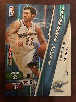 Kirk Hinrich Washington Wizards Panini NBA Adrenalyn XL 10/11 Special