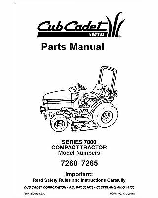 CUB CADET COMPACT Tractor Model 7305 With Front Loader 4X4