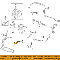 Honda Power Steering Diagram Of Liver And Gallbladder Oem 08 12 Accord Suction Hose 53731ta0a00