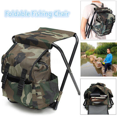 fishing chair rucksack swing vienna 2in1 hunting stool backpack fold seat bag camping hiking