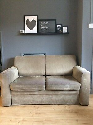 2 seater sofa bed furniture village high quality manufacturers beige sofabed 1 00 picclick uk