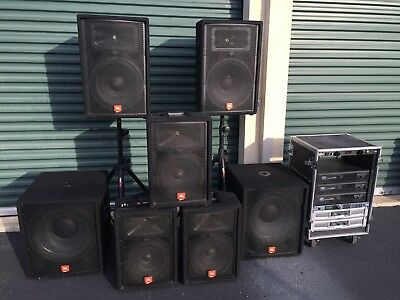 used pa system jbl