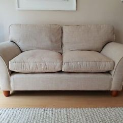 Fairmont Sofa Laura Ashley Pink Patchwork Dfs Two Seater In Dalton Natural Fabric