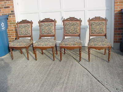 eastlake victorian parlor chairs aluminum chaise lounge pool 1 antique matching carved chair walnut