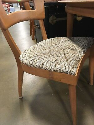 heywood wakefield dogbone chairs office chair types mid century dining 2 75 00