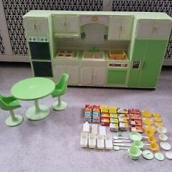 Sears Kitchen Assembled Island Vintage Wolverine Toy Co Barbie Doll Size Sunny Suzy Center Set