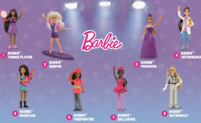 2019 Mcdonalds Happy Meal Toys Barbie You Pick One Or