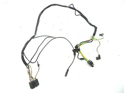 WINDSHIELD WIPER MOTOR wiring harness 66 Chevy Chevelle el