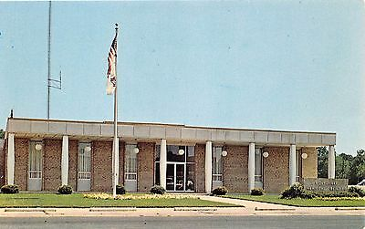 Moundville Alabama Town Hall Postcard c1960s Photo By Hub Gardner