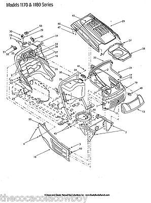 CUB CADET 2000 Series Tractors And Attachments Parts
