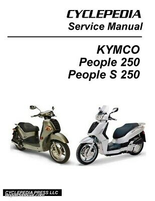 KYMCO XCITING 400I / ABS Scooter Service Manual Printed by
