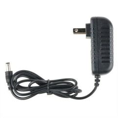X Rocker Gaming Chair Power Cord Barrel Table And Chairs New Ac Dc Adapter For Game 51231 Supply Charger