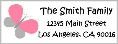 30 personalized address labels