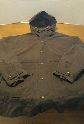 filson oil cloth coat